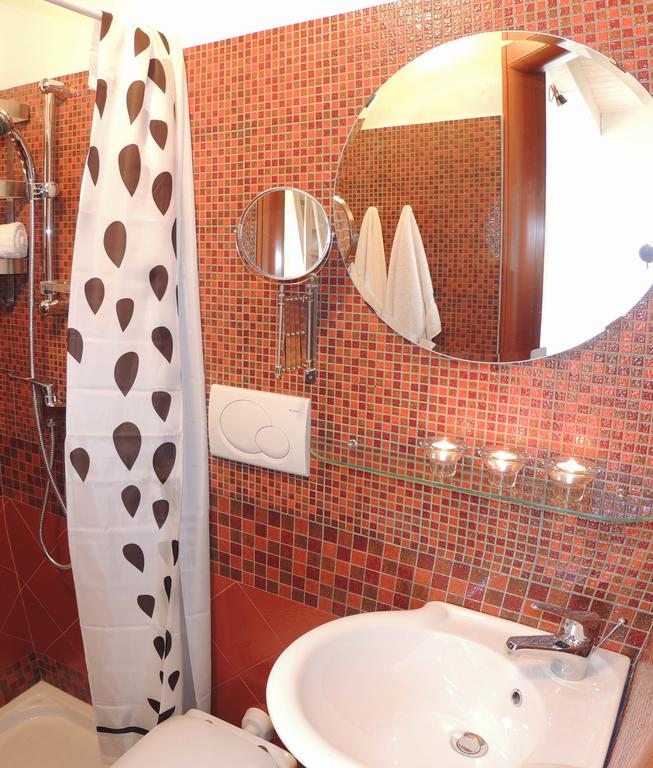 bathroom with shower - entrance level