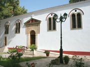 The monastery of Panagia Faneromeni, Lefkada