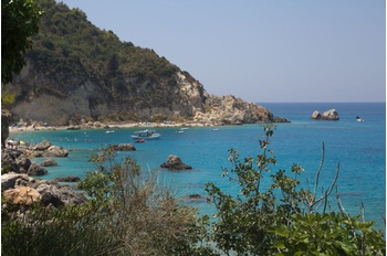 Hiking walk starting from Agios Nikitas