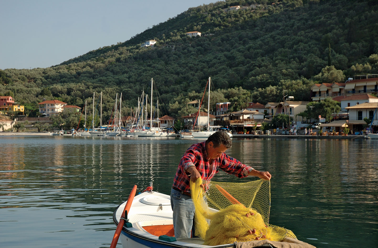 Syvota, this seaside village in Lefkada is ideal If you need peace and relaxation