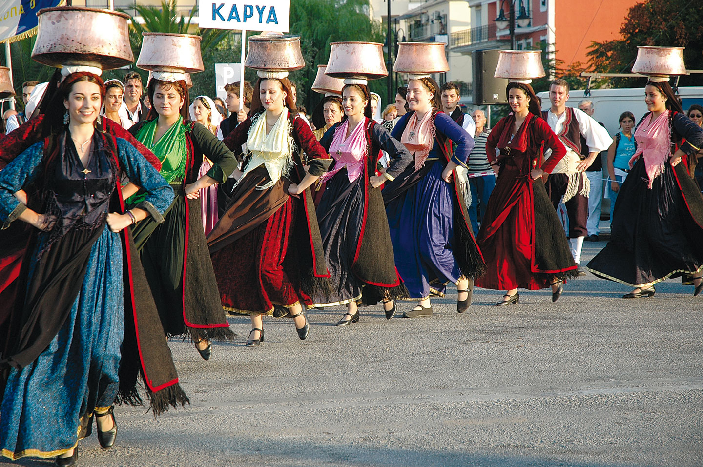 Dancing group from Karya, Lefkada, International Folklore Festival, Lefkada Slow Guide