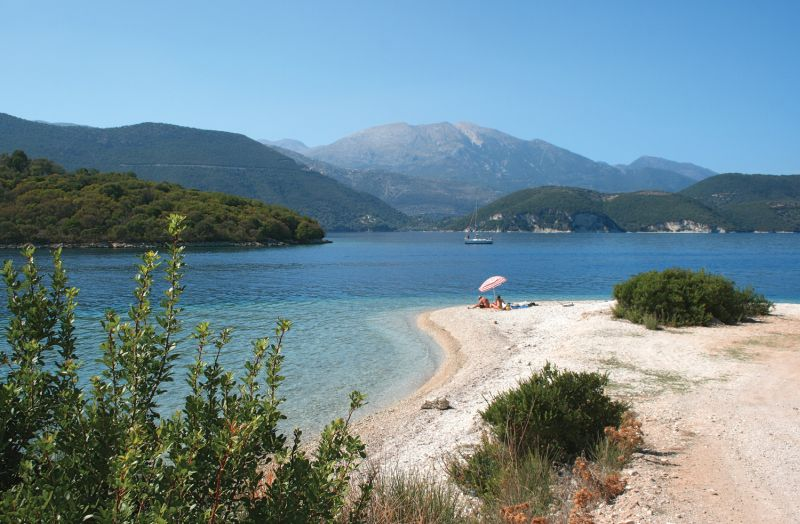 Koutelades | An amazing beach in Meganissi | Lefkada Slow Guide
