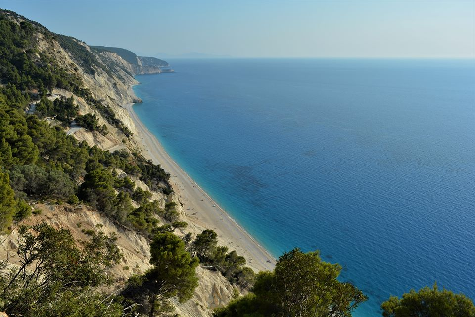 Lefkada from above