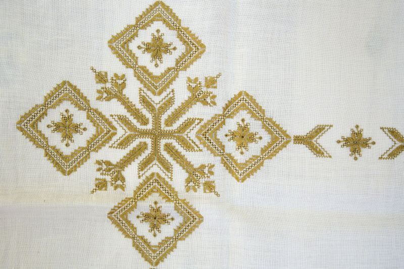 Karsaniko stitch | Traditional embroidery | Lefkada